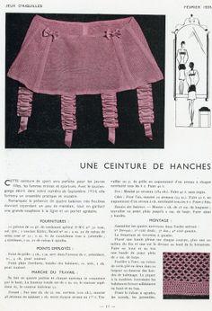 Crochet Lingerie, Sewing Lingerie, Classic Lingerie, Vintage Lingerie, Mode Crochet, Knit Crochet, Vintage Knitting, Vintage Crochet, Vintage Couture