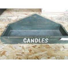 Sweet Sensations Wooden Candle Tray