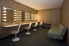 Four Seasons Restaurant - ladies room, Philip Johnson designed interior
