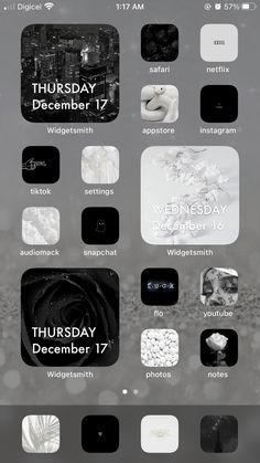 iOS screens