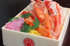 Yummy looking Crab Bento..oh now I'm in the mood for one of these hahaha!