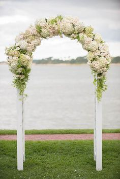 21 Floral Ceremony Arch Decoration Ideas ❤ See more: http://www.weddingforward.com/wedding-arch-decoration-ideas/ #weddings #decoration