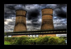 Cooling Towers, Sheffield, South Yorkshire, we always knew when we were home after being on a journey. Like two faithful sentinels watching over wincobank and the tinsley viaduct...it's just not the same.