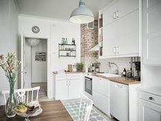Стильная кухня в скандинавском стиле