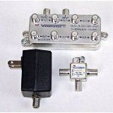 """Viewsonics 8 Port Cable TV Amplifier with Passive Return (Electronics) newly tagged """"hdtv"""""""