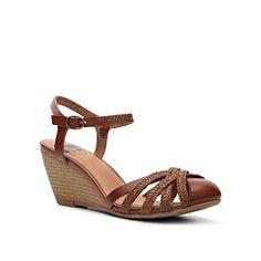 BC Footwear Match Made In Heaven Wedge Sandal- teal