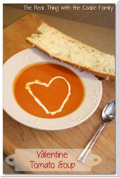 Easy Homemade Tomato Soup Recipe! #tomato #soup #recipes