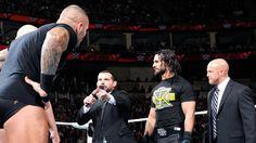"Randy Orton ""jokes around"" with  The Authority:  Jamie Noble Dos'nt Trust Randy Orten 3-9-2015"