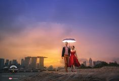 Louis + Lizhen Singapore Prewedding Photography