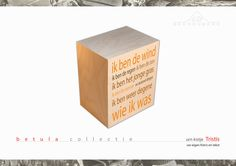 The Beerenberg Tristis urn box, print on wood
