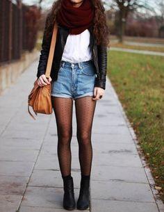 13 maneras de usar medias este invierno
