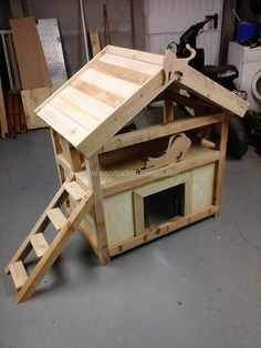 If anyone has a pet cat, but don't have enough money to buy a cat house for him/her; then it is not a big issue...