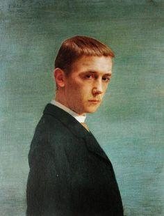 Felix Vallotton - Self portrait by Felix  Vallotton