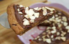 Nutella Cookie Dough 'Pizza' - my arteries are closing!