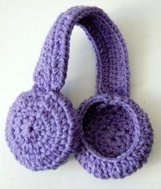 Crochet Earmuff Headband