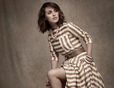 'Grey's Anatomy' Star Camilla Luddington Wears Stripes for Line Magazine - Fashion Gone Rogue