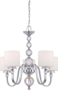 Quoizel DW5004D Downtown 4-Light Chandelier Dusk Bronze…