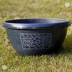 huge Pots and Planters Set of metallic effect hand Painted Chengdu Bowls (12 30cm Check more at http://www.gardenorchid.co.uk/product/pots-and-planters-set-of-metallic-effect-hand-painted-chengdu-bowls-12-30cm/