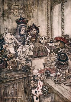 Arthur Rackham | ILLUSTRATION | Alice in Wonderland