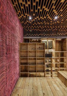 *일본 KOI의 수족관과 결합된 카페-[ Farming Architects ] KOI Cafe :: 5osA: [오사]