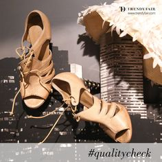 High up above or down below.  Quality checked. It matters. Proenza Schouler sandals