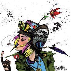 Tank Girl by Jim Mahfood