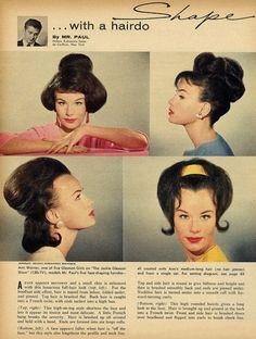 Shape with a hairdo, by Mr. Paul