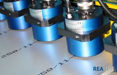 Foto: REA JET - Großschrift Tintenstrahldrucker -  Beschriftung von Aluminiumplatten