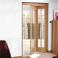 Suffolk White Primed Bifold with Panel Effect | Bi fold doors and Doors