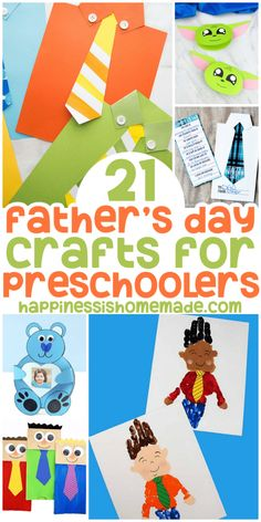 20+ Father's Day Crafts for Preschoolers