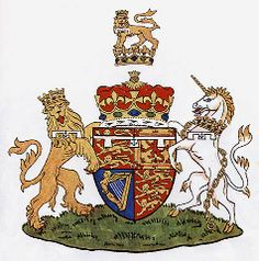 The Arms of Prince Andrew, Duke of York.