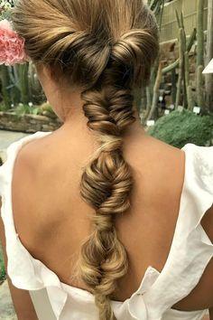 Trendy wedding hairstyles updo messy boho - New Site Tree Braids Hairstyles, Braided Hairstyles For Wedding, Messy Hairstyles, Pretty Hairstyles, Hairstyles 2018, Updo Hairstyle, Natural Hair Styles, Long Hair Styles, Bridal Hair