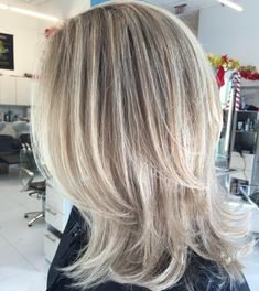 """17 Likes, 1 Comments - Jean-francois Minne (@sirjeffparis) on Instagram: """"#hairbyjeff #highlights #blondehair #blondehighlights #hairpainting #balayage #layeredhair…"""""""