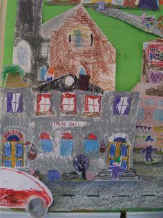 'Dwellings' school project.