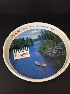 Vintage Hamm's Beer Bar Tray Vintage Rare Breweriana #Hamms