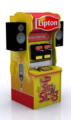 Lipton Sip & Sing by Hamza Shaukat Afridi, via Behance