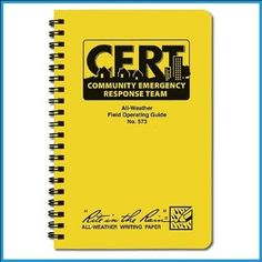 CERT All-Weather Field Operating Guide