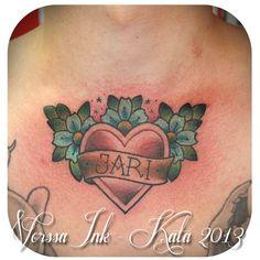 https://www.facebook.com/VorssaInk http://tattoosbykata.blogspot.fi tattoo, heart tattoo, tattoos, ink, inked, vorssa ink, forssa, finland, kata puupponen