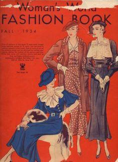 1930s Woman's World Fashion Book Pattern Magazine