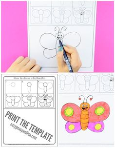Today we are learning how to draw a butterfly with this simple step by step guided drawing for kids. This is a supper easy simple butterfly drawing tutorial that's perfect for beginners of all ages, but especially for kids in kindergarten and preschool. *this post contains affiliate links* I always loved drawing and felt insanely …