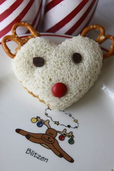 Reindeer Sandwiches...so simple and so cute!!