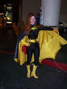 Batgirl Cosplay, Bat Girl, Skin Tight, Dc Comics, Robin, Cape, Halloween Costumes, Batman, Wonder Woman