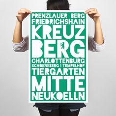 ღღ Poster Berlin, by Holiwall