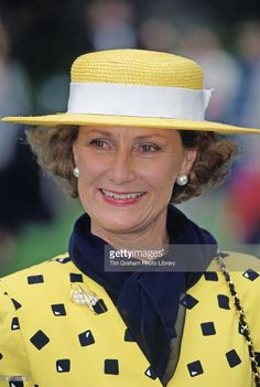 Queen Sonja Of Norway In Princes Street Gardens In Edinburgh, Scotland. July…