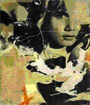 mimmo rotella Mixed Media Collage, Abstract Expressionism, Pop Art, Reflection, Portraits, Mood, Paper, Painting, Inspiration