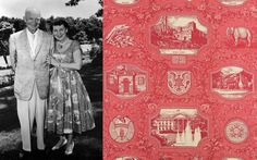 Ike and Mamie Eisenhower and The Eisenhower Toile