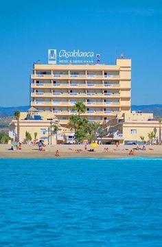 Hotel RH Casablanca - Fachada Casablanca, Multi Story Building, Exterior, Hotels, Pictures, Outdoor Rooms