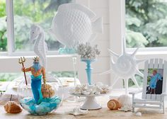 Under the Sea Party ~ Table Decor