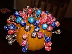 Lollipop Pumpkin