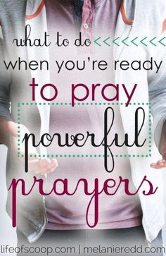 Many people like the idea of powerful prayer, but don't know where to start. The…